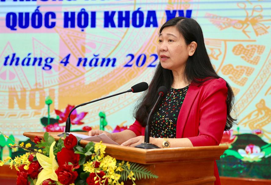 Hà Nội: Có 11 người ứng cử ĐBQH có tín nhiệm của cử tri nơi cư trú đạt dưới 50% - Ảnh 1.