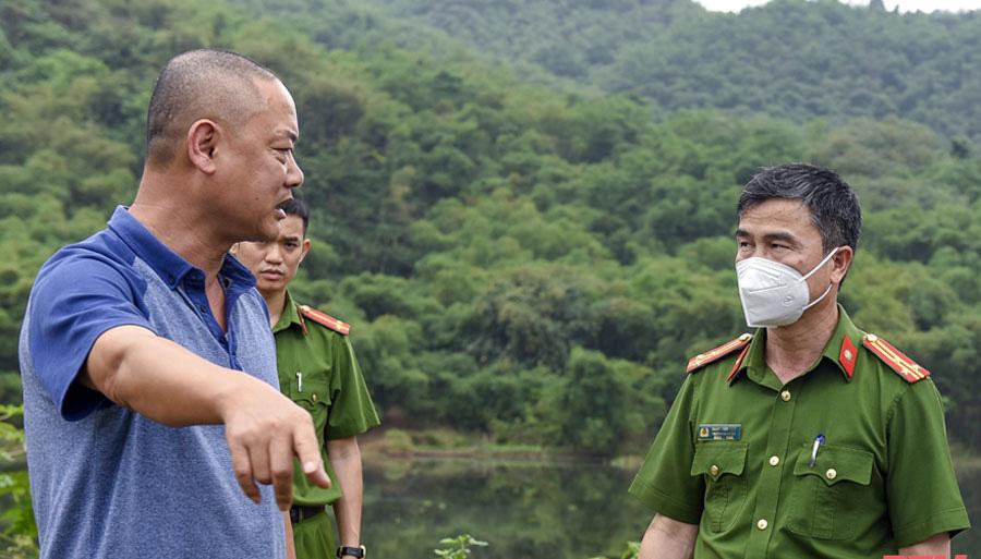 """PCT UBND tỉnh Thanh Hóa Lê Đức Giang: """"Xử lý nghiêm, kể cả xử lý hình sự doanh nghiệp xả thải ra sông Mã"""" - Ảnh 4."""