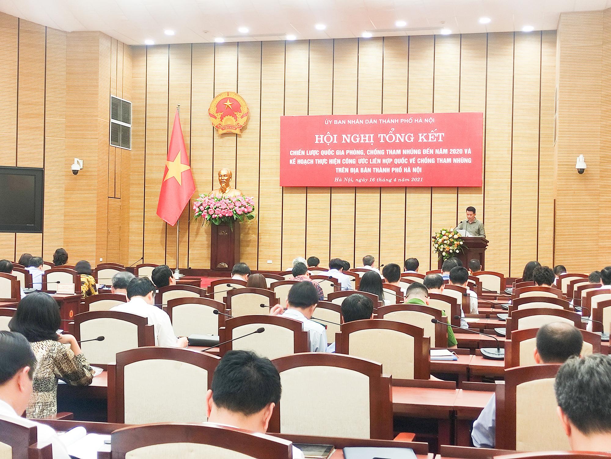 """Phòng, chống tham nhũng: Hà Nội xây dựng cán bộ liêm chính, xóa bỏ tình trạng """"xin - cho"""" - Ảnh 3."""