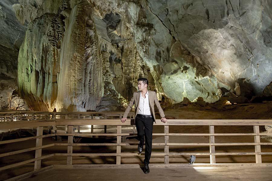 Đẹp mê mẩn với hình ảnh Quảng Bình thiên nhiên tươi đẹp trong MV của ca sĩ Trần Nguyên Thắng - Ảnh 4.