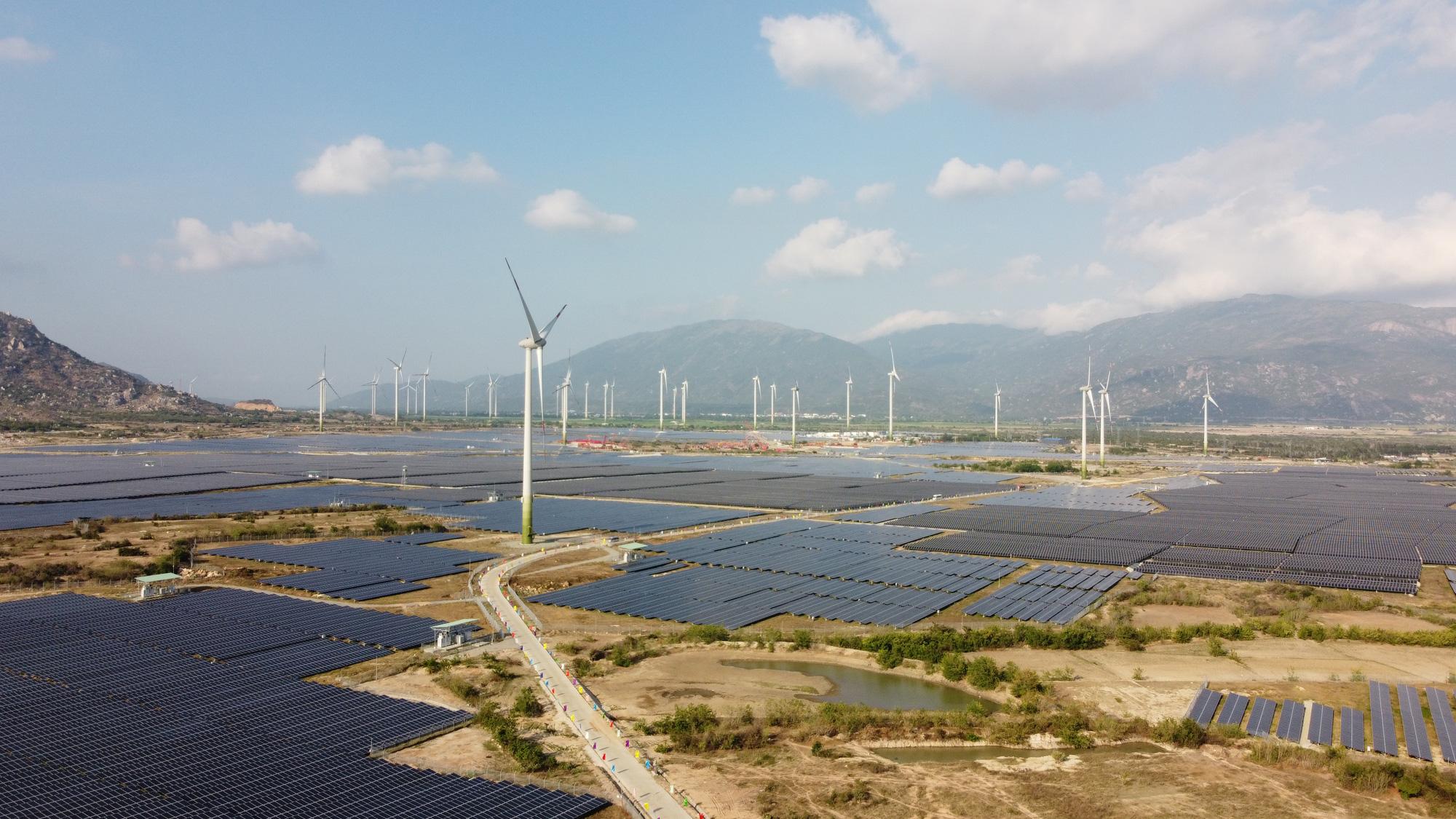 Ninh Thuận: Khánh thành nhà máy điện gió lớn nhất Việt Nam - Ảnh 1.