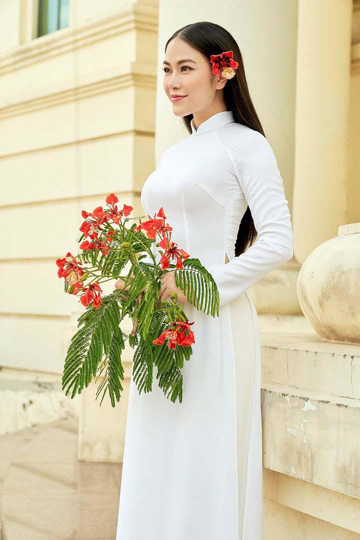 Ca sĩ Tuyết Nga: Danh hiệu Hoa hậu áo dài chỉ như một cuộc dạo chơi trên sắc đẹp! - Ảnh 4.
