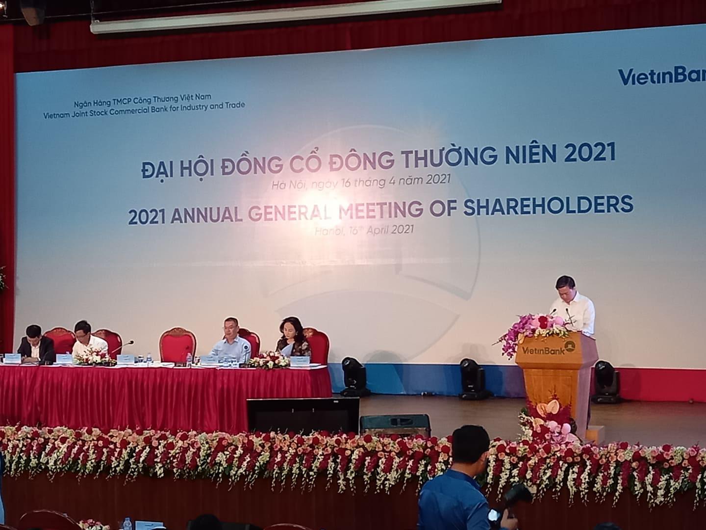 Chủ tịch Lê Đức Thọ tiết lộ lý do siêu dự án VietinBank Tower 10.000 tỷ chưa về đích? - Ảnh 1.