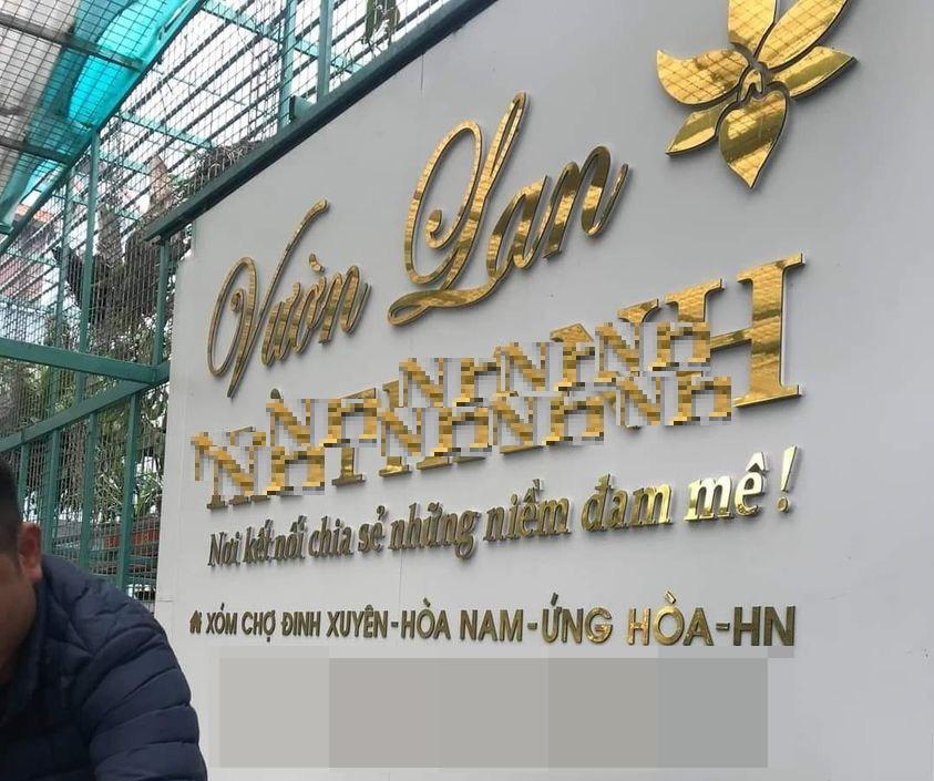 Công an Hà Nội phản hồi về thông tin chủ vườn lan Hà Thanh trình diện - Ảnh 1.