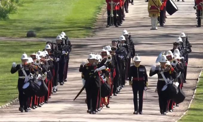 Hình ảnh cực quý tộc của đám tang Hoàng thân Philip - Ảnh 4.