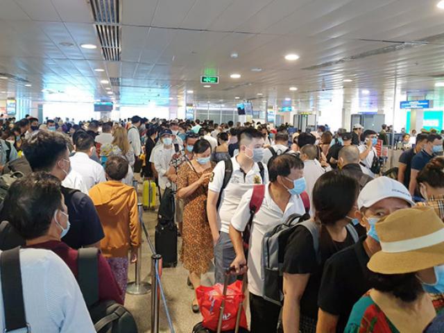 Hàng không từ chối khách đi máy bay không khai báo y tế - Ảnh 2.