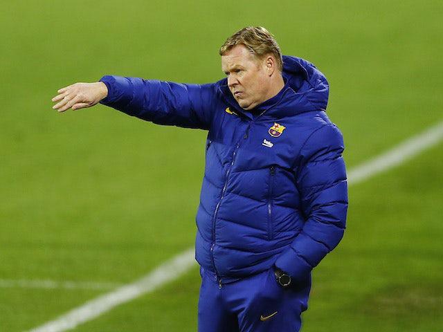 Koeman chuẩn bị có trận chung kết đầu tiên cùng Barcelona.