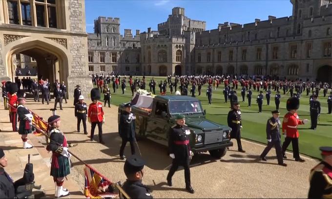 Hình ảnh cực quý tộc của đám tang Hoàng thân Philip - Ảnh 13.