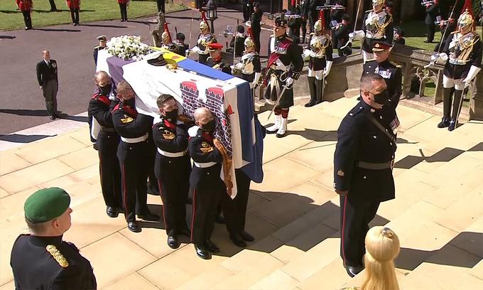 Hình ảnh cực quý tộc của đám tang Hoàng thân Philip - Ảnh 14.