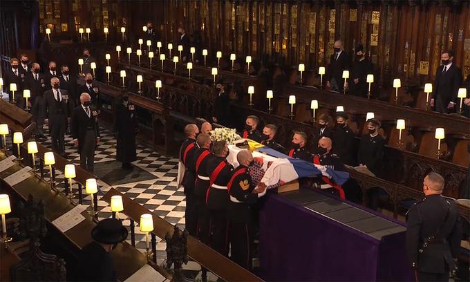 Hình ảnh cực quý tộc của đám tang Hoàng thân Philip - Ảnh 18.