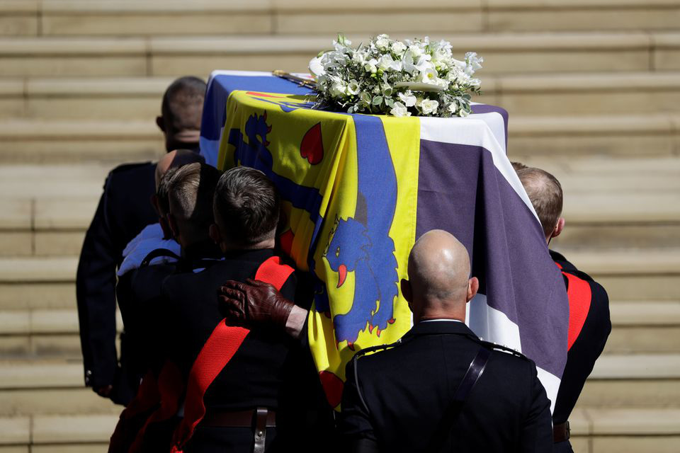 Hình ảnh cực quý tộc của đám tang Hoàng thân Philip - Ảnh 15.