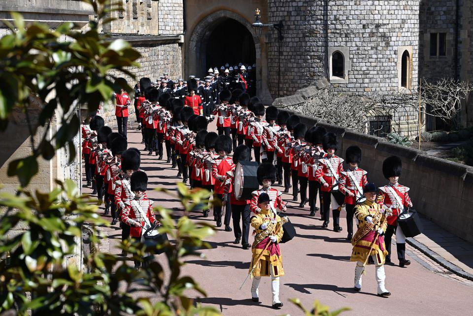 Hình ảnh cực quý tộc của đám tang Hoàng thân Philip - Ảnh 5.