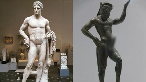 """Lý do các bức tượng Hy Lạp cổ lại có """"chỗ ấy"""" bé một cách thảm thương - Ảnh 2."""