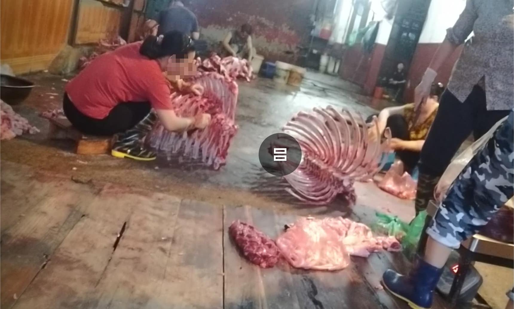 """Lò mổ gia súc không phép """"tra tấn"""" người dân Thủ đô Hà  Nội - Ảnh 1."""