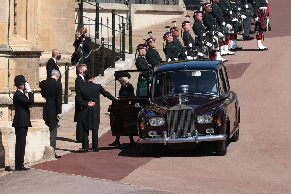 Hình ảnh cực quý tộc của đám tang Hoàng thân Philip - Ảnh 10.