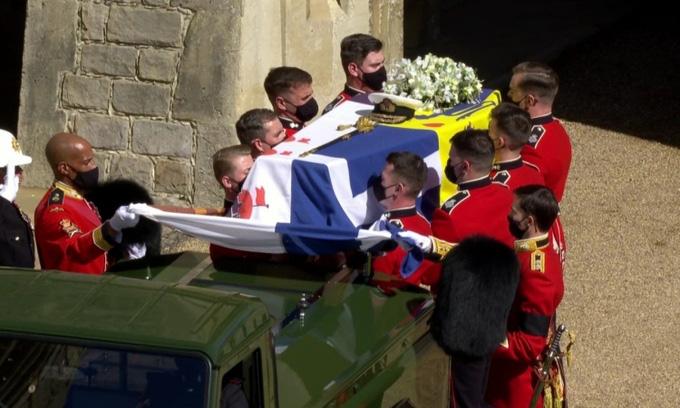 Hình ảnh cực quý tộc của đám tang Hoàng thân Philip - Ảnh 12.