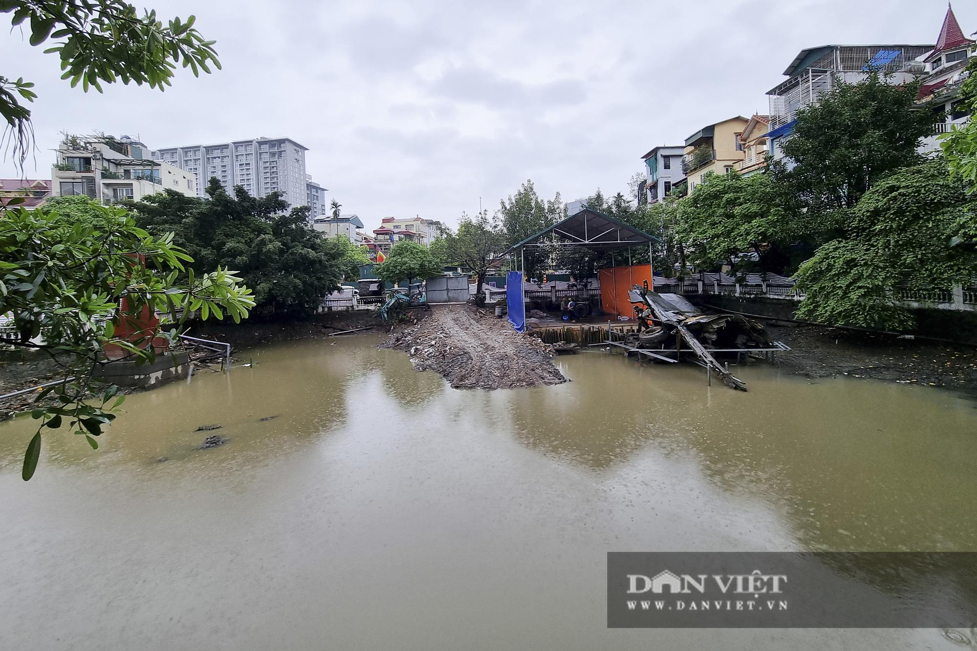 Hồ Hữu Tiệp, nơi xác máy bay B52 bị bắn rơi tại Hà Nội được tu bổ, tôn tạo - Ảnh 1.