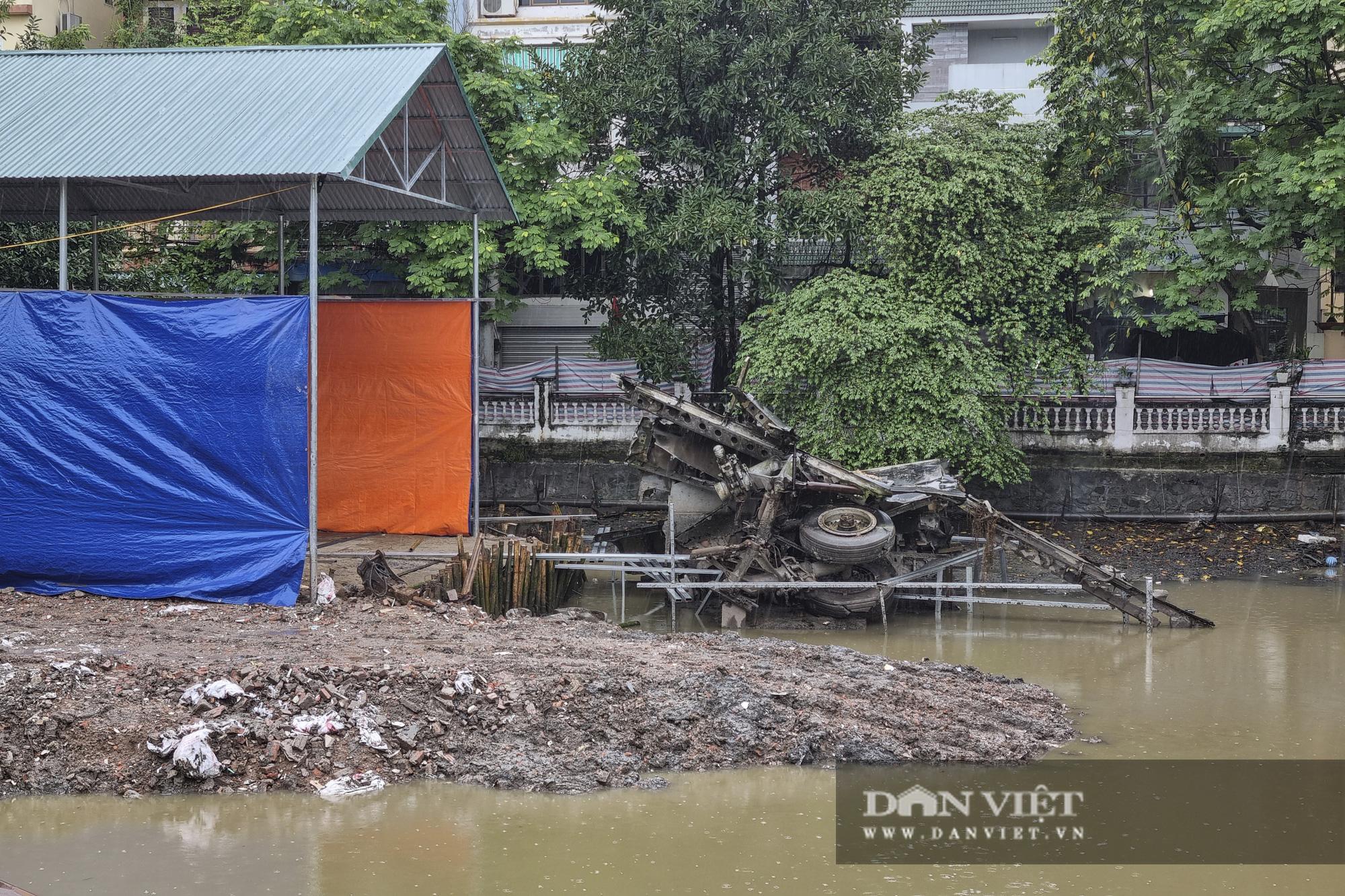 Hồ Hữu Tiệp, nơi xác máy bay B52 bị bắn rơi tại Hà Nội được tu bổ, tôn tạo - Ảnh 3.