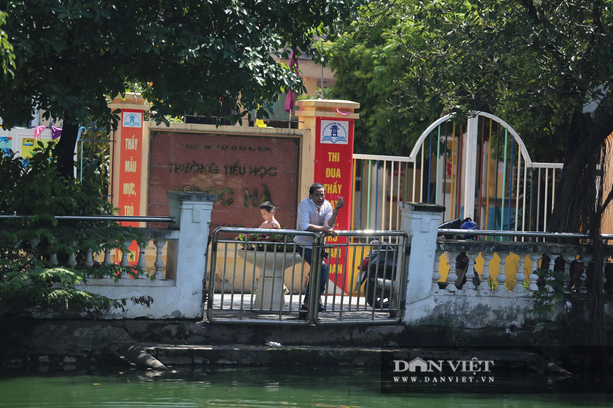 Hồ Hữu Tiệp, nơi xác máy bay B52 bị bắn rơi tại Hà Nội được tu bổ, tôn tạo - Ảnh 12.