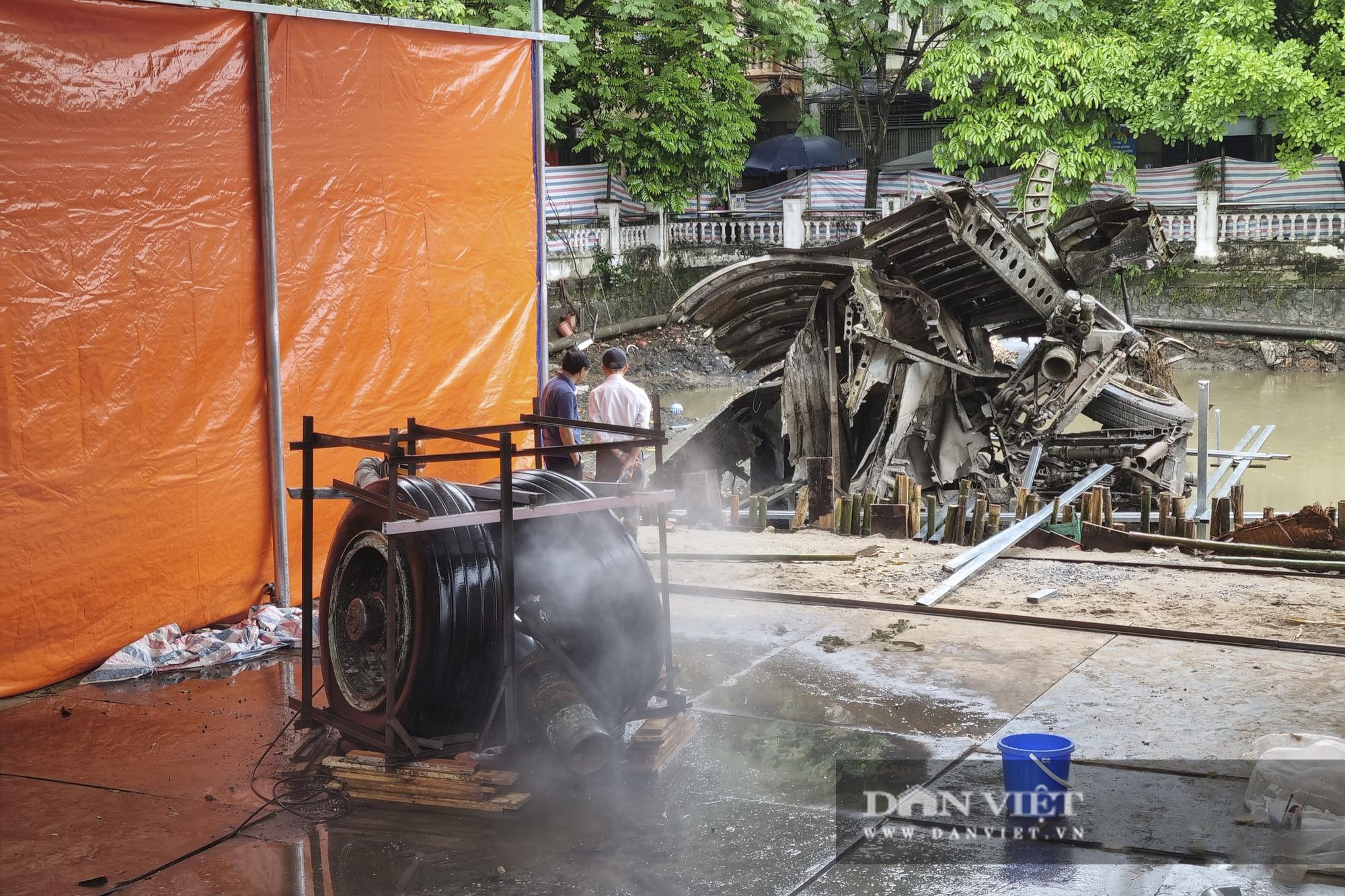 Hồ Hữu Tiệp, nơi xác máy bay B52 bị bắn rơi tại Hà Nội được tu bổ, tôn tạo - Ảnh 7.