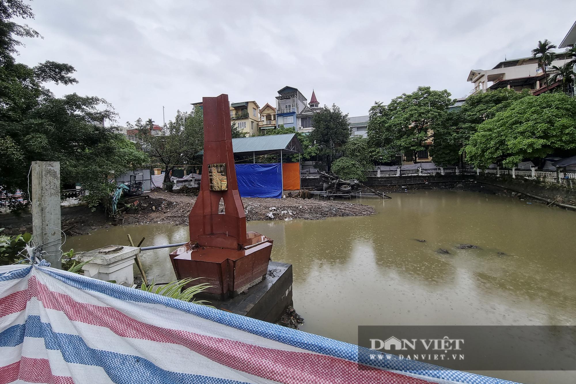 Hồ Hữu Tiệp, nơi xác máy bay B52 bị bắn rơi tại Hà Nội được tu bổ, tôn tạo - Ảnh 8.