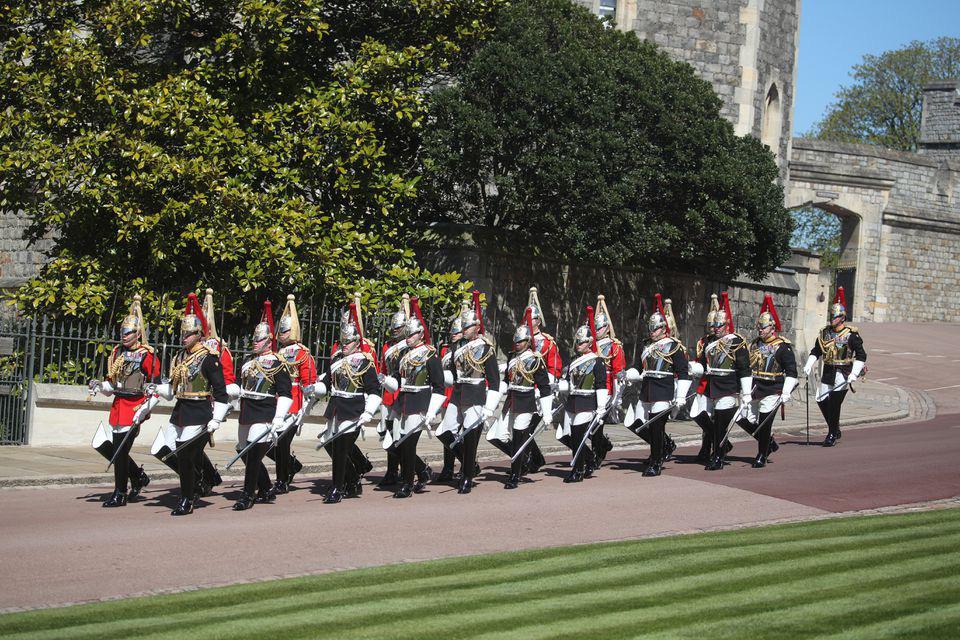 Hình ảnh cực quý tộc của đám tang Hoàng thân Philip - Ảnh 7.