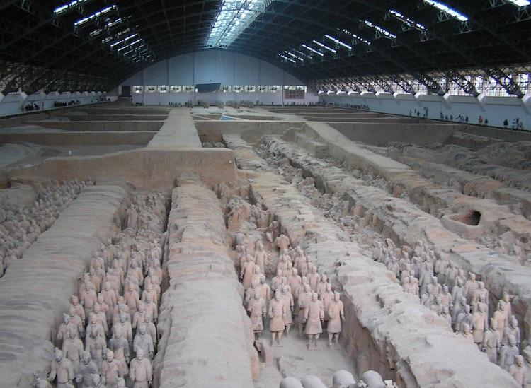 Tượng binh mã trong lăng mộ Tần Thủy Hoàng: Mọi gương mặt đều khác nhau? - Ảnh 1.