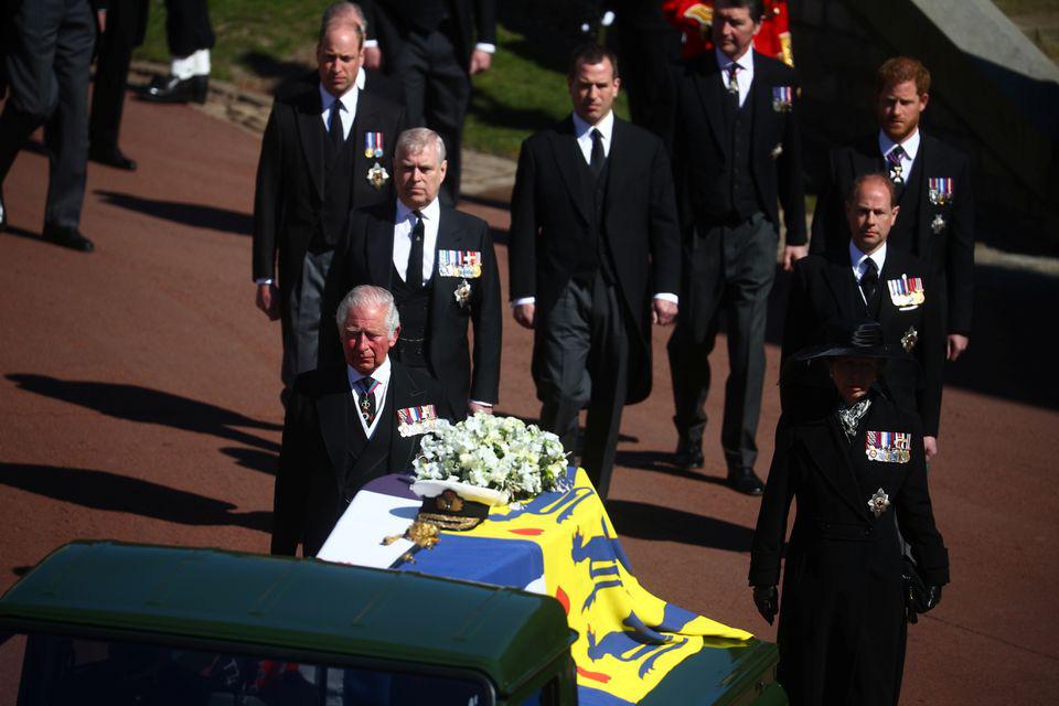 Hình ảnh cực quý tộc của đám tang Hoàng thân Philip - Ảnh 11.