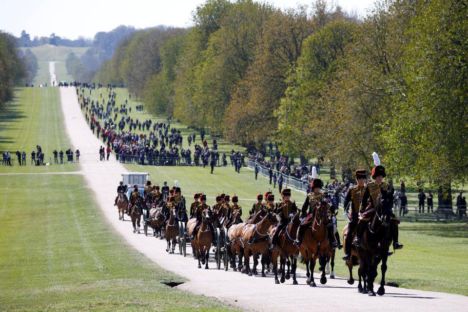 Hình ảnh cực quý tộc của đám tang Hoàng thân Philip - Ảnh 2.