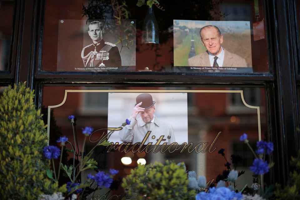 Hình ảnh cực quý tộc của đám tang Hoàng thân Philip - Ảnh 17.