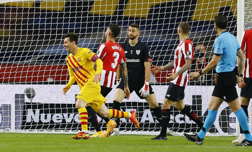 Barca vô địch Cúp Nhà vua, Messi tự hào nhất điều gì? - Ảnh 1.