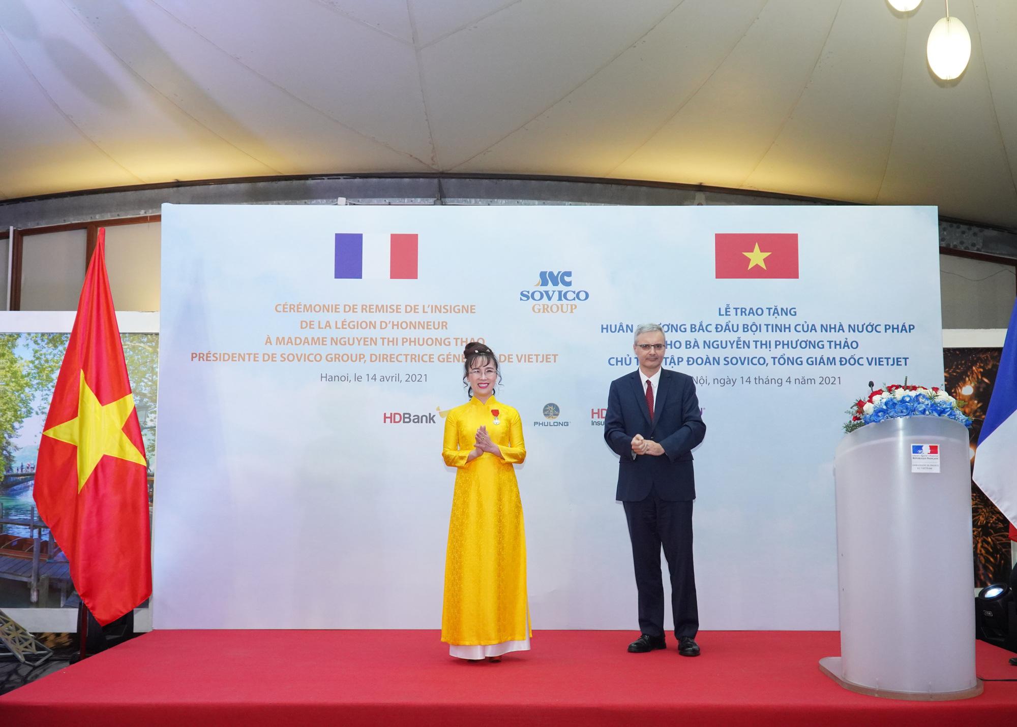 Nữ tỷ phú Nguyễn Thị Phương Thảo dành tặng Huân chương Bắc đẩu bội tinh cho 30.000 cán bộ nhân viên - Ảnh 2.