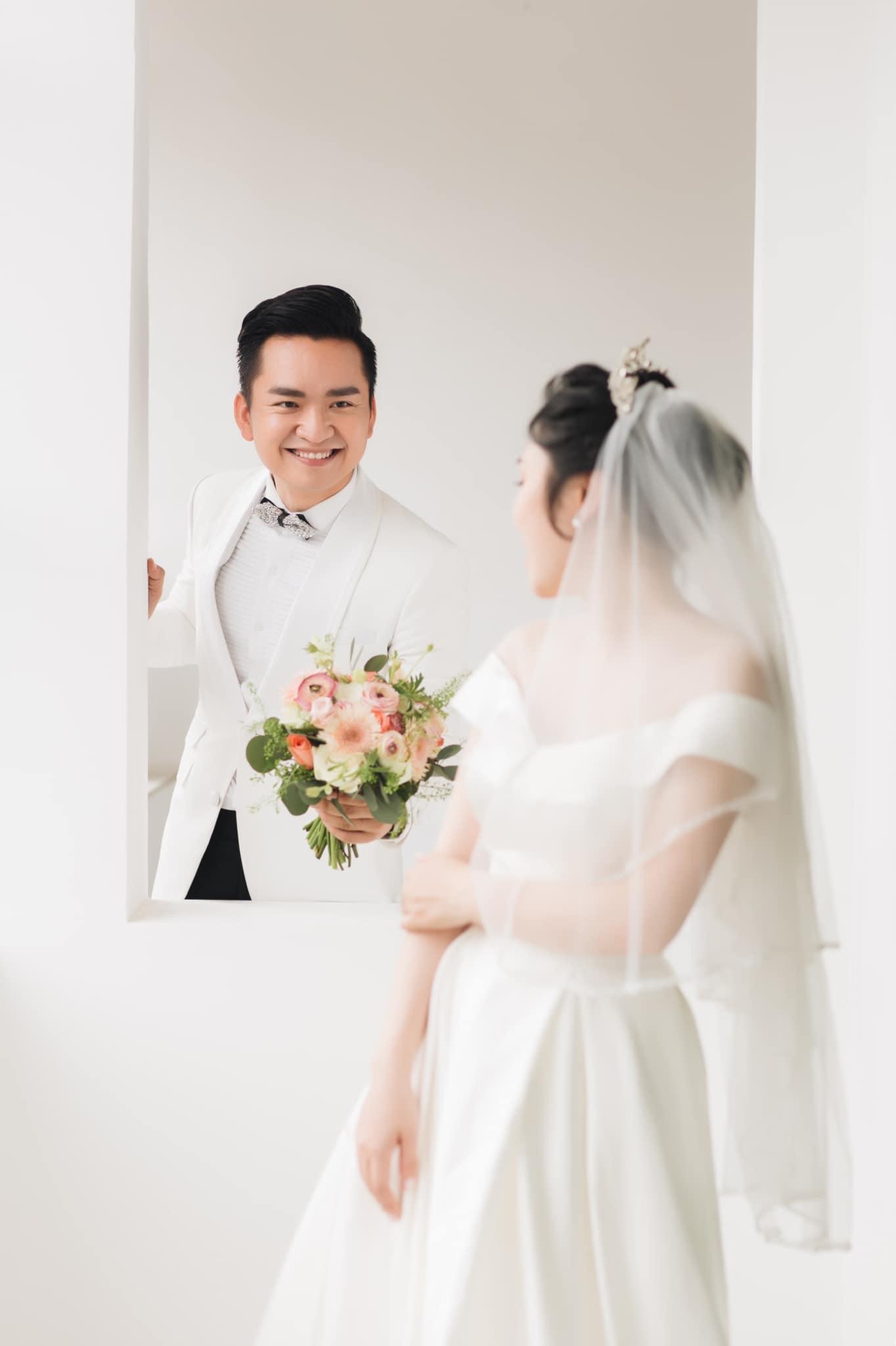 MC Hạnh Phúc chia sẻ sắp có con, tiết lộ lý do chưa thể tổ chức tiệc cưới - Ảnh 1.