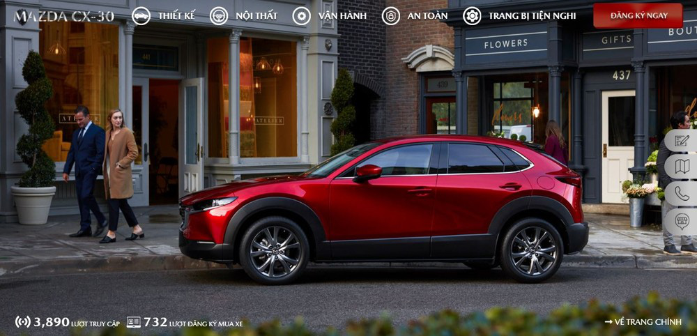Mazda CX-30 gây sốt, giá hấp dẫn, đối thủ đáng gớm của Toyota Corolla Cross  - Ảnh 2.