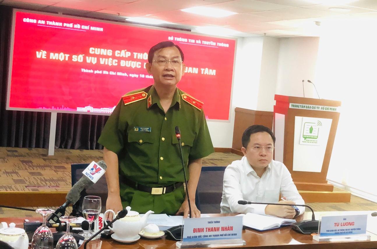 Vụ án Lê Chí Thành: Công an TP.HCM đang xác minh lý lịch đối tượng - Ảnh 1.