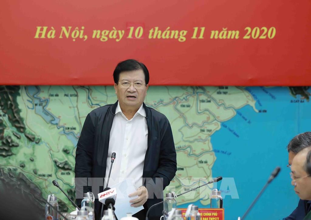 Sau ông Trịnh Đình Dũng, ai sẽ là Trưởng Ban Chỉ đạo Trung ương về Phòng chống thiên tai? - Ảnh 1.