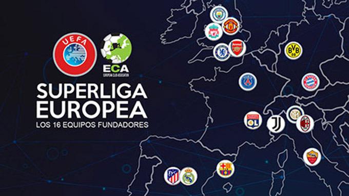 Super League chính thức ra đời: Big Six Premier League, Barca và Real góp mặt - Ảnh 1.