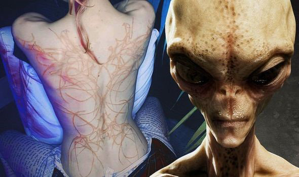Bạn gái của Elon Musk để lộ hình xăm lạ liên quan tới người ngoài hành tinh - Ảnh 1.