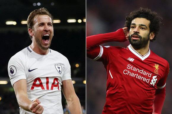 Kane đang hơn Salah 2 bàn.