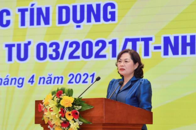 Thống đốc Nguyễn Thị Hồng mong Thủ tướng Phạm Minh Chính quan tâm chỉ đạo xử lý các ngân hàng 0 đồng - Ảnh 2.
