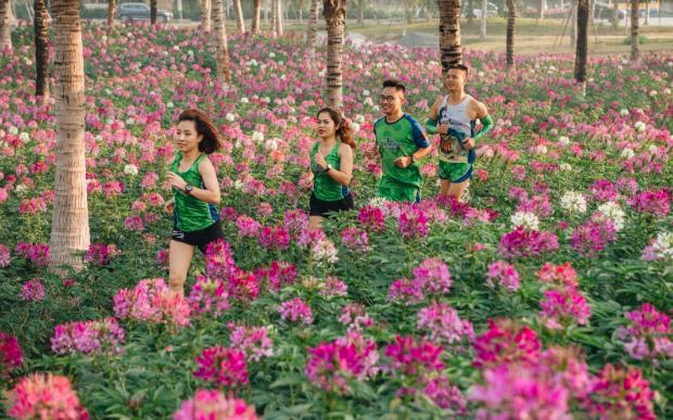 """Ecopark Marathon 2021 - Ngắm cung đường chạy giữa thiên nhiên """"siêu chất"""" trước giờ G - Ảnh 6."""