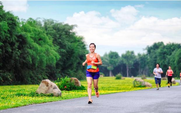 """Ecopark Marathon 2021 - Ngắm cung đường chạy giữa thiên nhiên """"siêu chất"""" trước giờ G - Ảnh 9."""