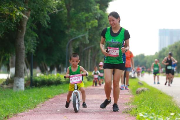 """Ecopark Marathon 2021 - Ngắm cung đường chạy giữa thiên nhiên """"siêu chất"""" trước giờ G - Ảnh 12."""