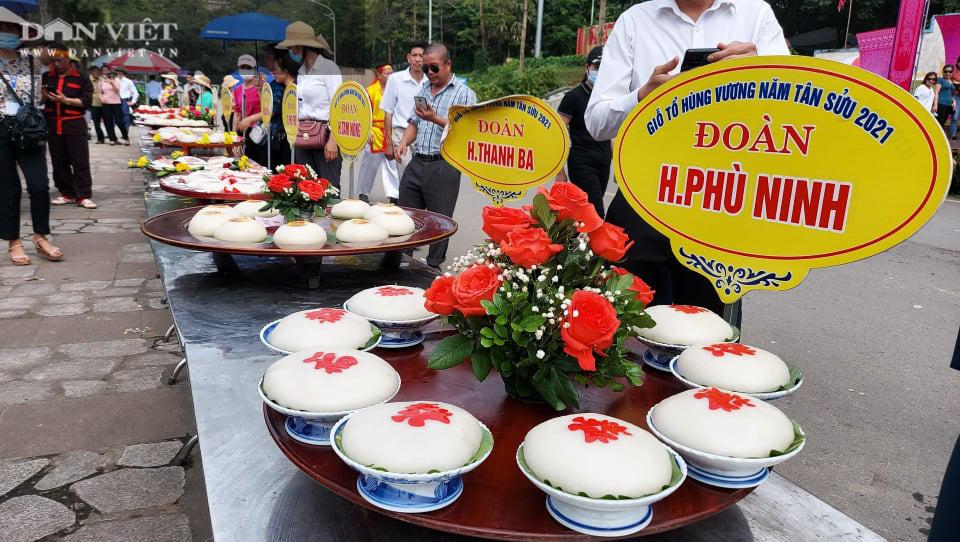 Phú Thọ: Sôi nổi Hội thi gói, nấu bánh chưng, giã bánh giầy tại Đền Hùng - Ảnh 6.