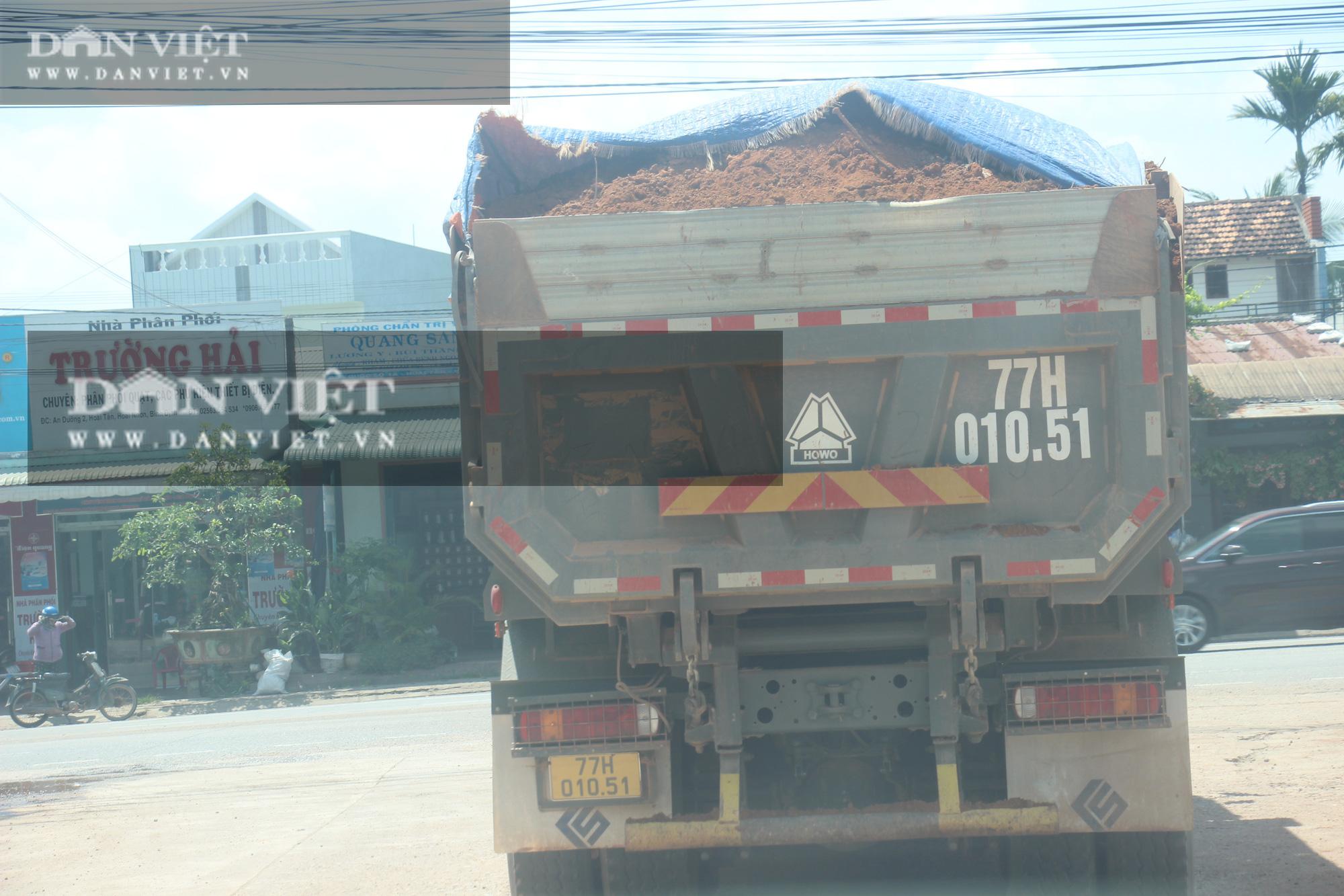 """Đoàn xe hổ vồ logo Bá Sanh Đường """"tung hoành"""" ở Thị xã Hoài Nhơn: Chẳng lẽ """"bó tay""""? - Ảnh 5."""