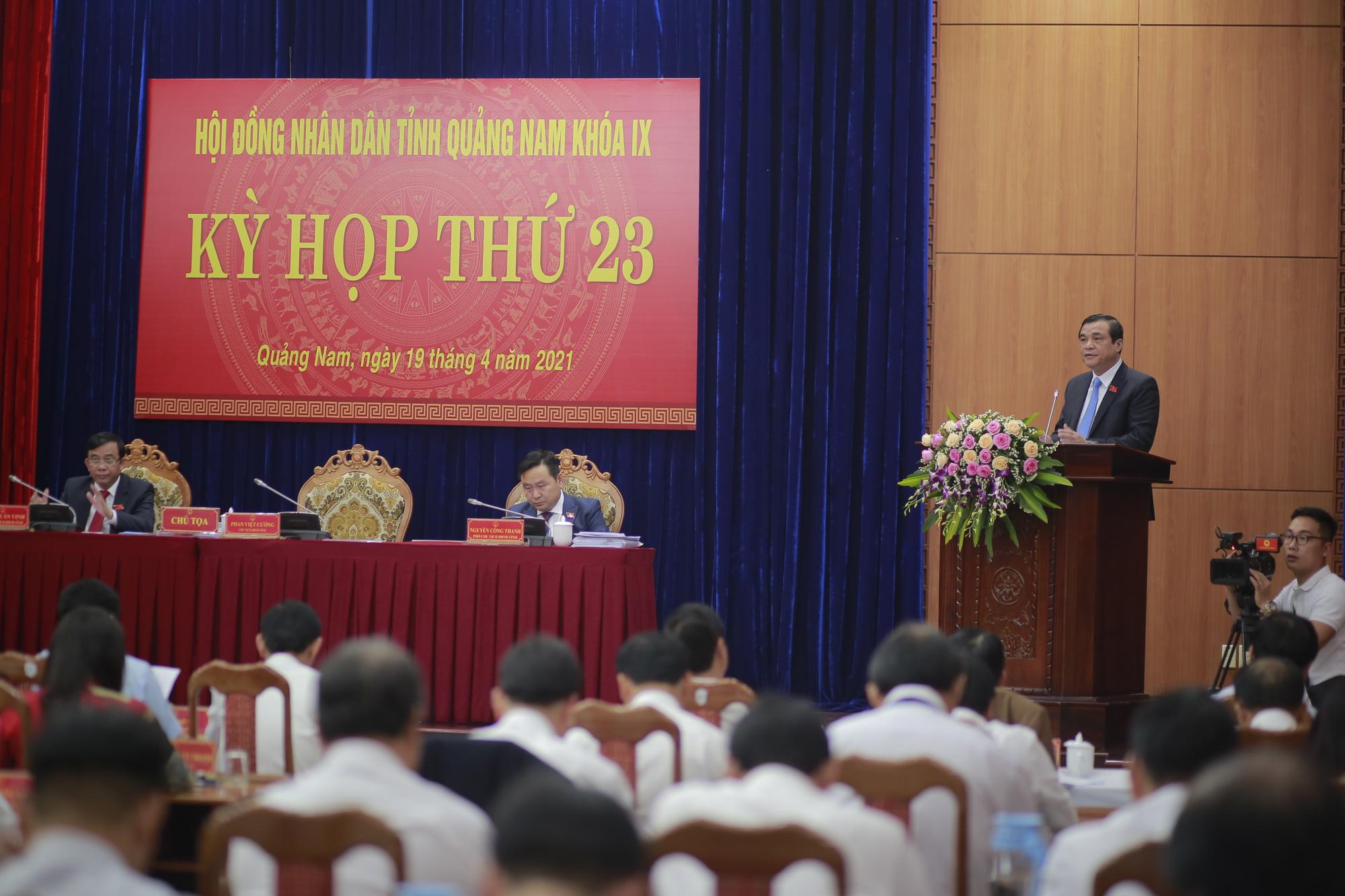 Quảng Nam: Những Nghị quyết nào sẽ được HĐND tỉnh ban hành tai kỳ họp thứ 23? - Ảnh 1.