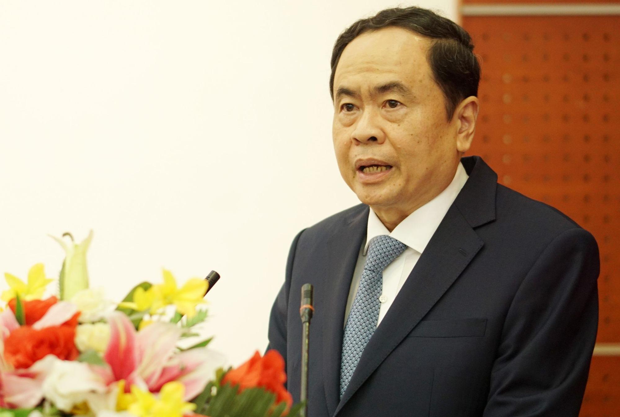 """Ủy viên Bộ Chính trị Trần Thanh Mẫn """"mách"""" cách cho người ứng cử nếu dân hỏi không trúng cử thì làm gì - Ảnh 1."""
