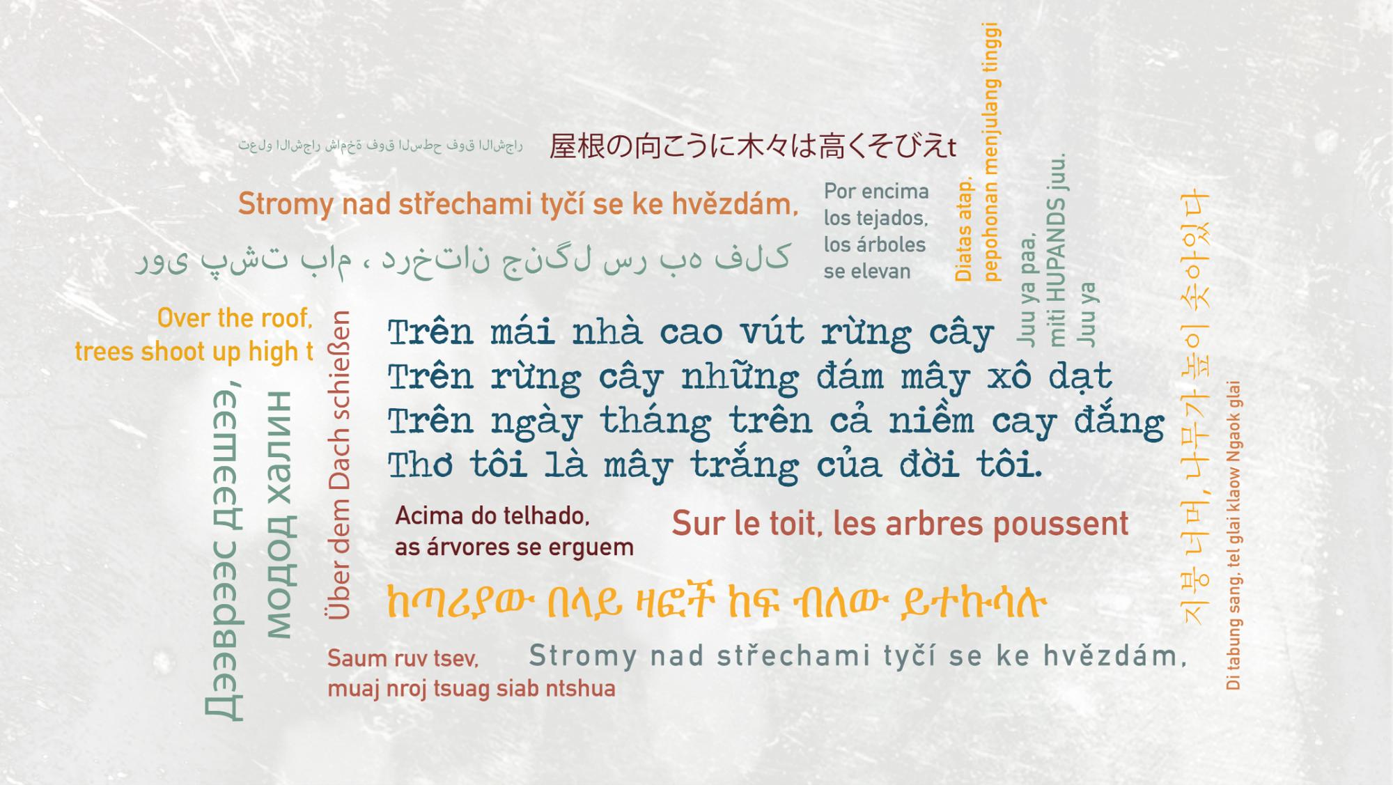 """""""Se sẽ 2021"""" - Khi thơ Lưu Quang Vũ - Xuân Quỳnh được cất lên bằng 20 ngôn ngữ khác nhau - Ảnh 2."""