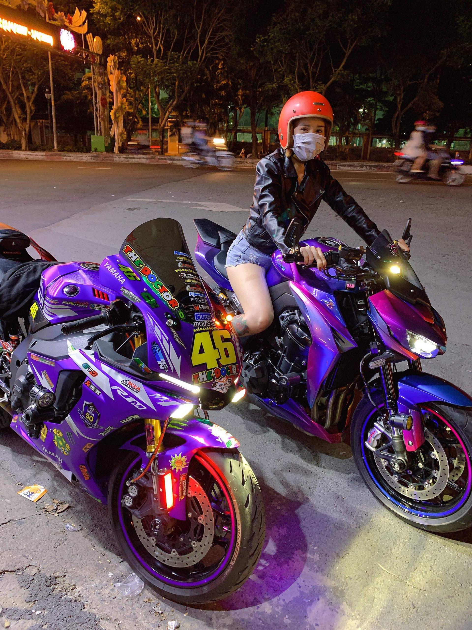 """Hot girl mô tô phân khối lớn Tina Phạm: """"Cưỡi ngựa sắt là quên hết sự đời"""" - Ảnh 4."""