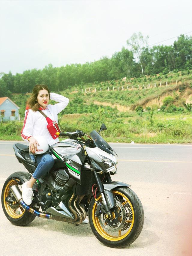 """Hot girl mô tô phân khối lớn Tina Phạm: """"Cưỡi ngựa sắt là quên hết sự đời"""" - Ảnh 5."""